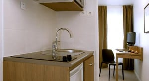 kitchenette appart hotel quimper